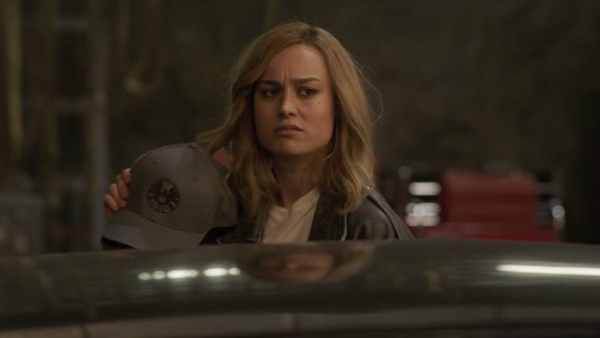 Brie Larson as Captain Marvel / Carol Danvers.