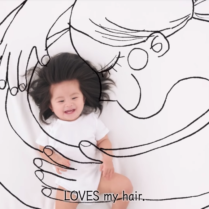 Image from Pantene Japan Official/YouTube