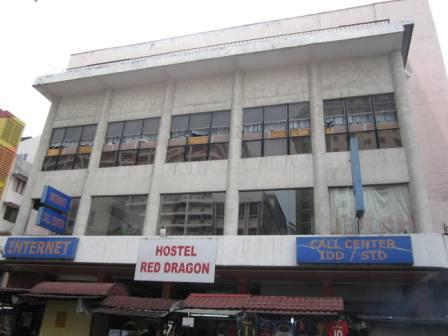Rex Theatre located in Chinatown was converted into a budget hostel called Hotel Red Dragon.