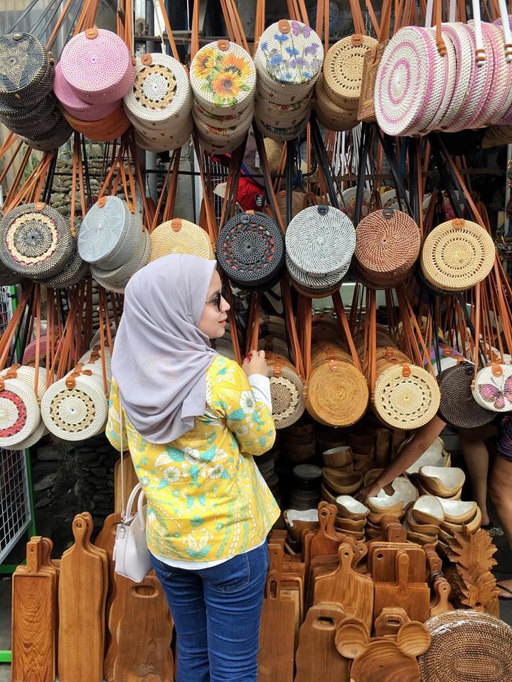 Ubud Art Market.
