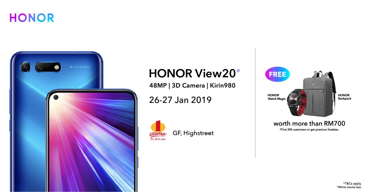 Image from HONOR Malaysia