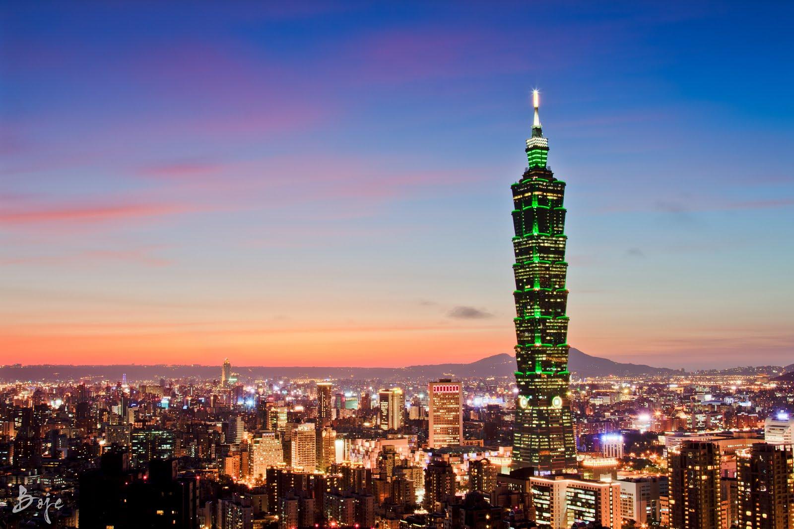 Taipei 101, Taipei.