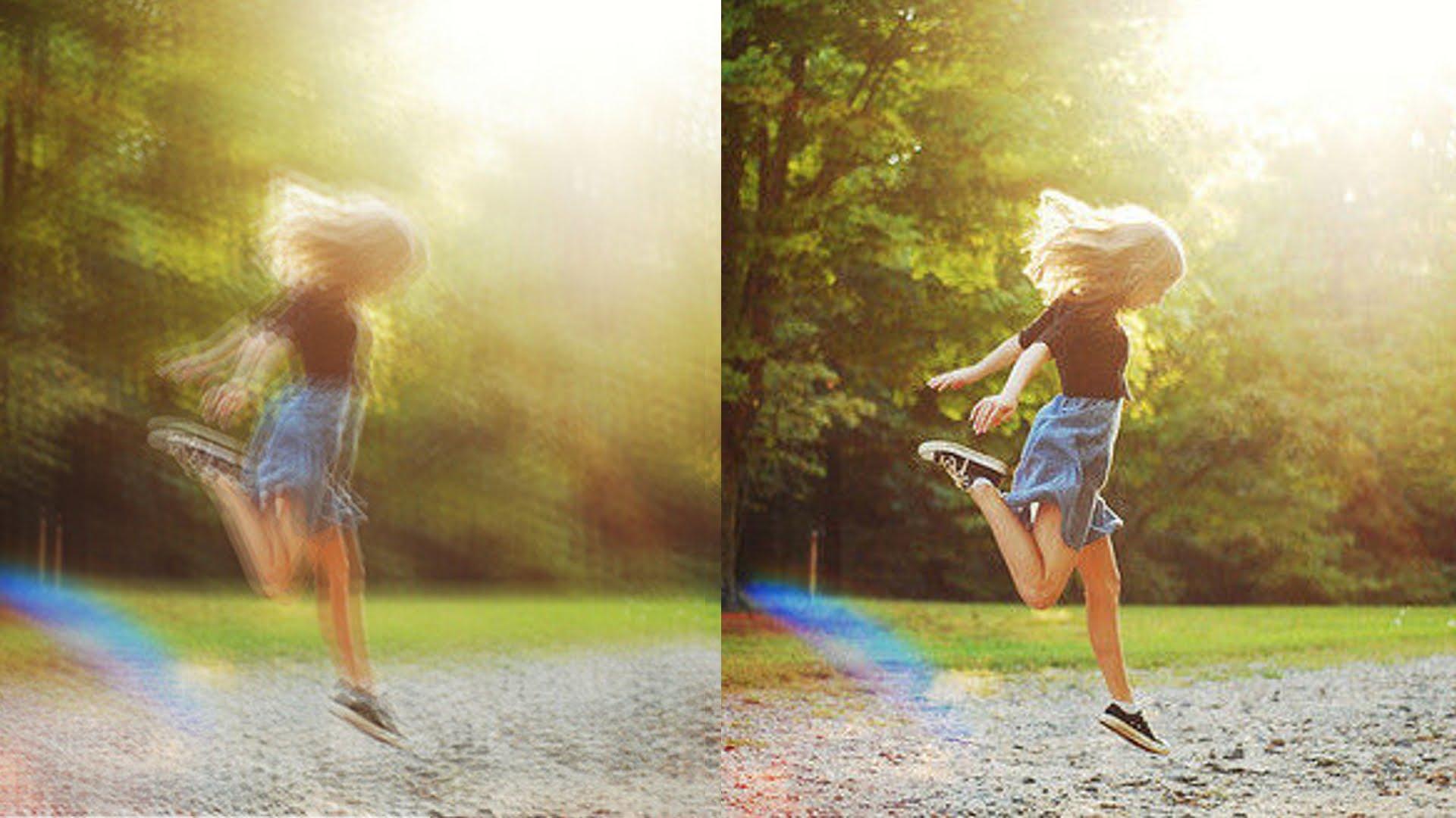Blur vs clear image