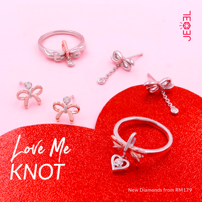 jeoel love me knot collection