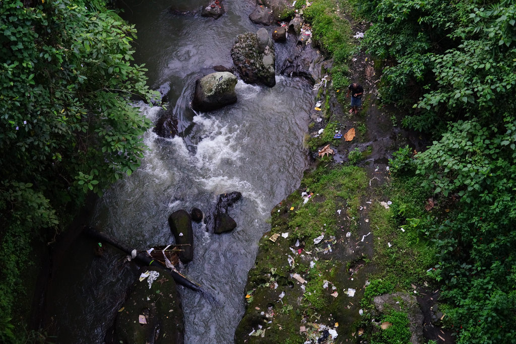 Wos River in Ubud, Bali. Image for illustration purposes only.
