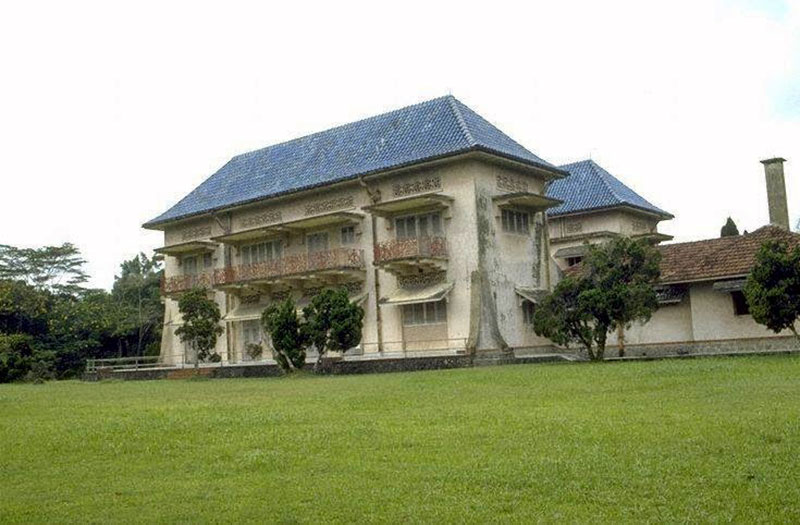 Istana Woodneuk, also known as the Tyersall House.