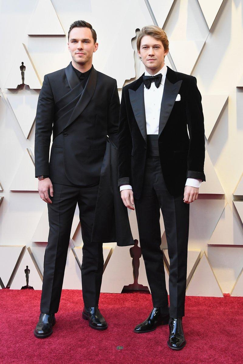 Nicholas Hoult and Joe Alwyn Oscars 2019