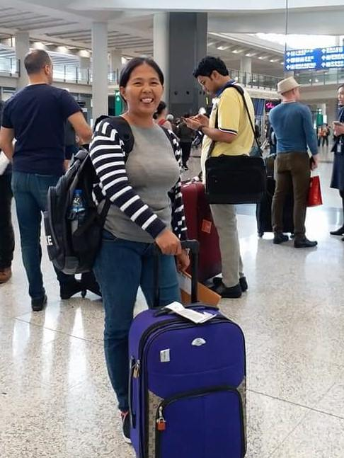 Baby Jane Allas when she first traveled to Hong Kong in 2017.