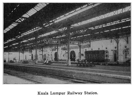 Image from Great railway journeys Malaysia
