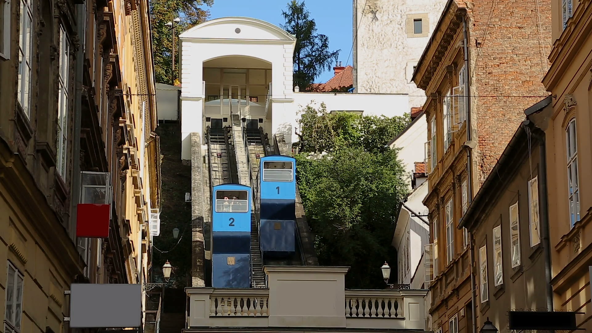 The 129-year old Zagreb Funicular
