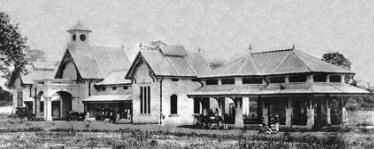 The first Kuala Lumpur railway station in 1886 was called the Resident Station.