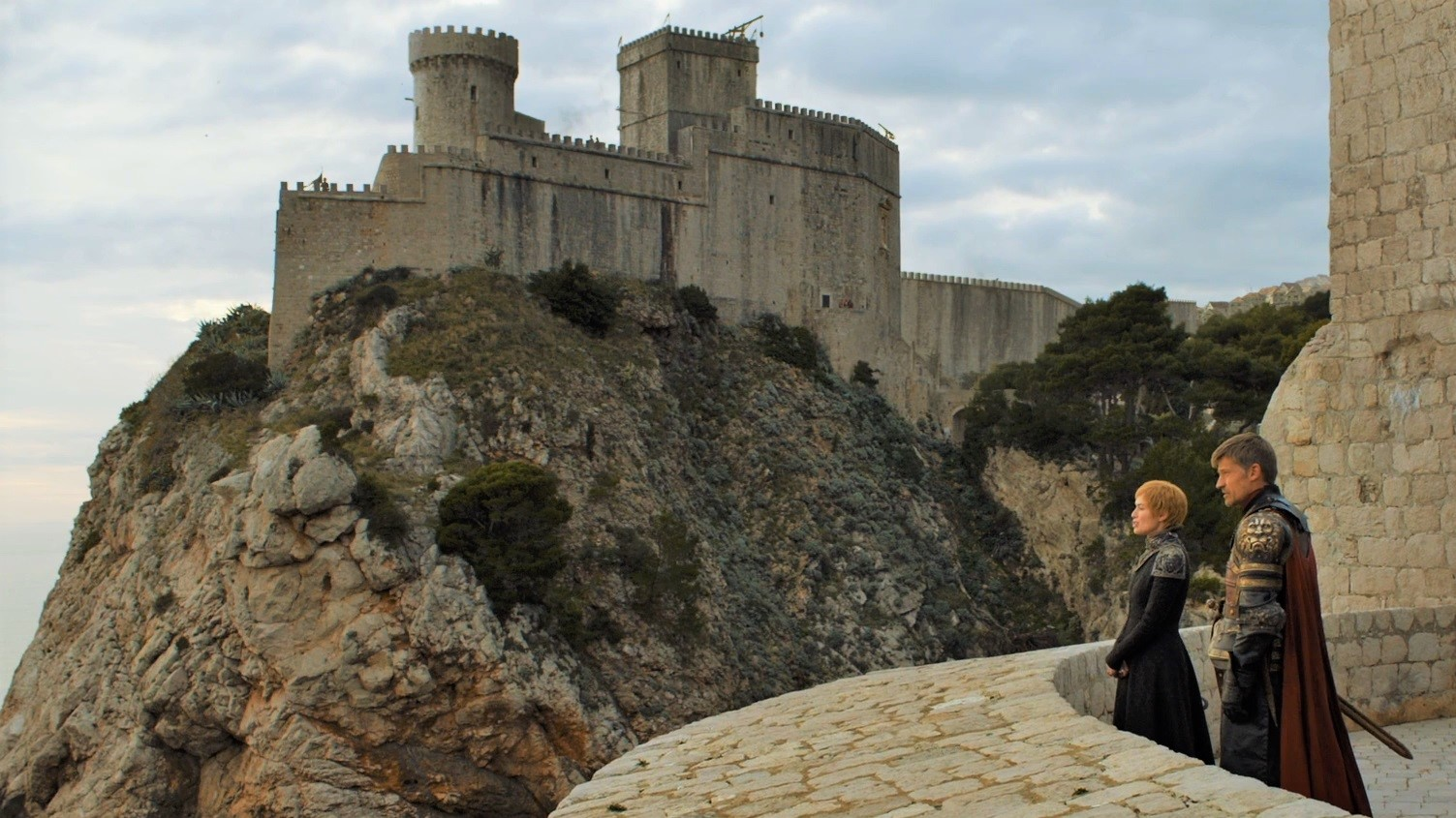 Dubrovnik city walls as seen on Game of Thrones