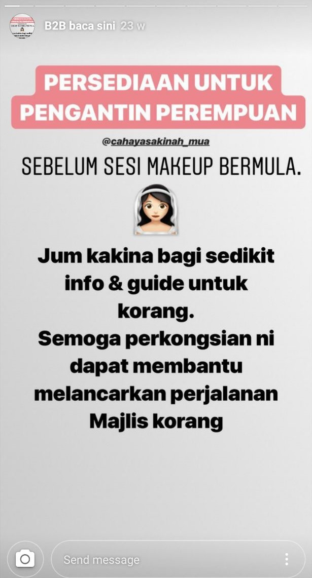 Image from Instagram @cahayasakinah_mua