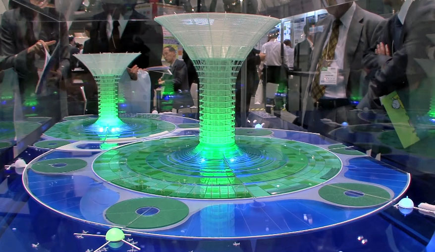 A prototype model of Green Floats.
