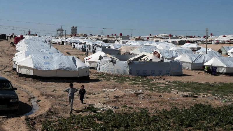Some of the Malaysians are currently living in the al-Hol displacement camp after leaving ISIL-territory.
