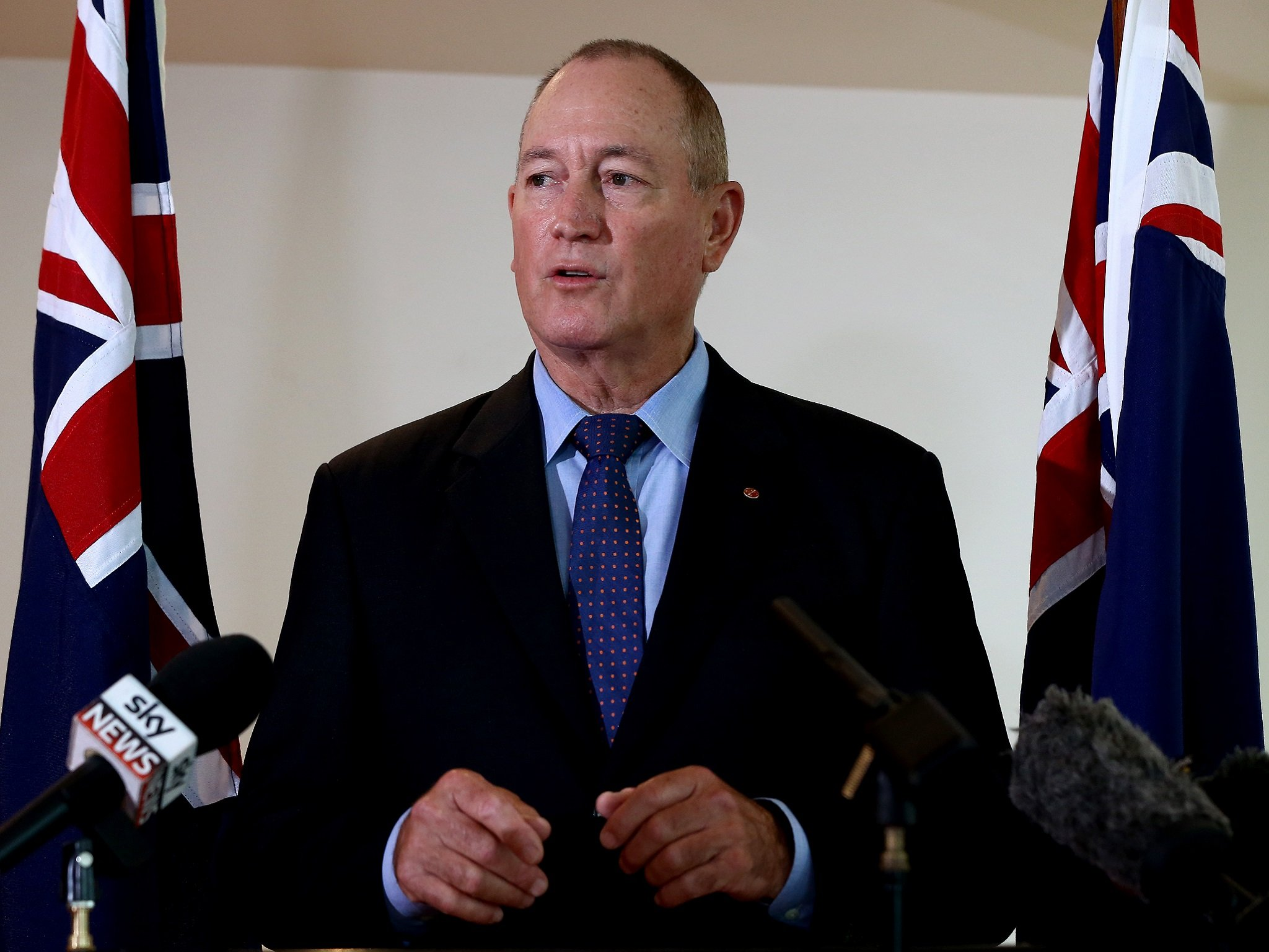 "Senator Fraser Anning Picture: ""They Are The Perpetrators"""
