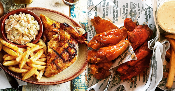Image from Nando's, Wing Stop