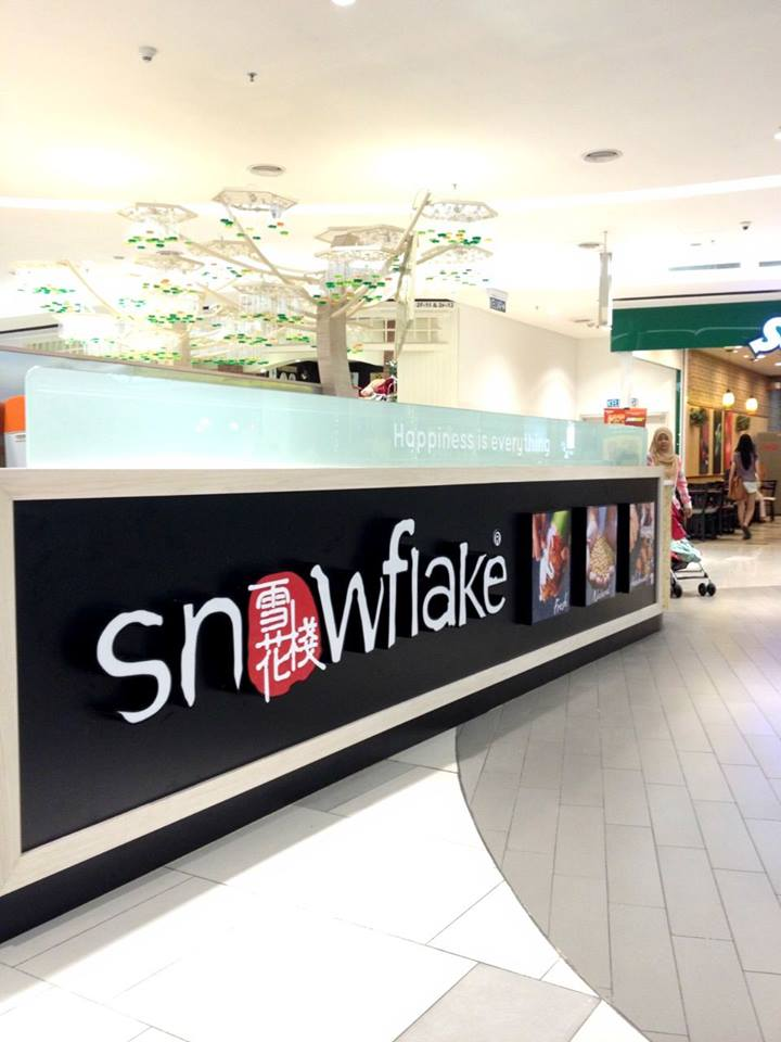Snowflake in Paradigm Mall
