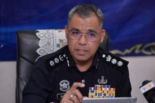 Gombak police chief Assistant Commissioner Samsor Maarof