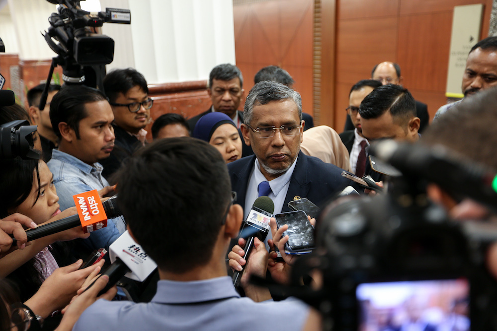 Deputy minister in the Prime Minister's Department Datuk Hanipa Maidin