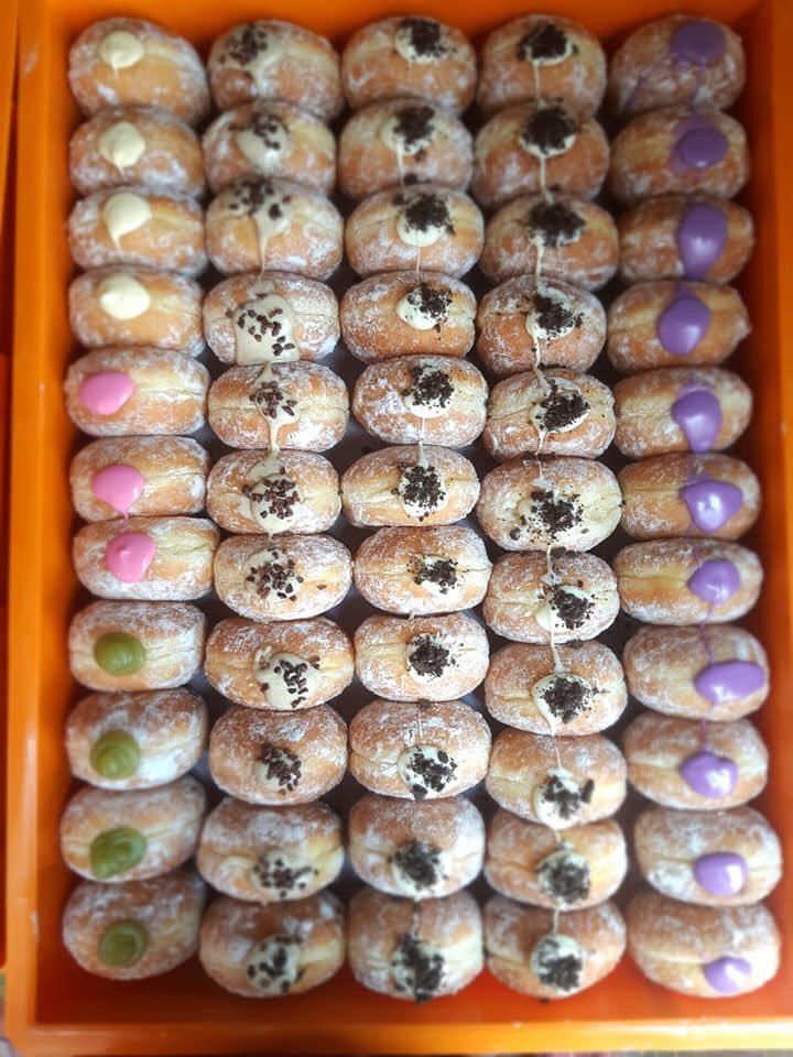 donut bomboloni viral dekat bazaar ramadan peringit melaka