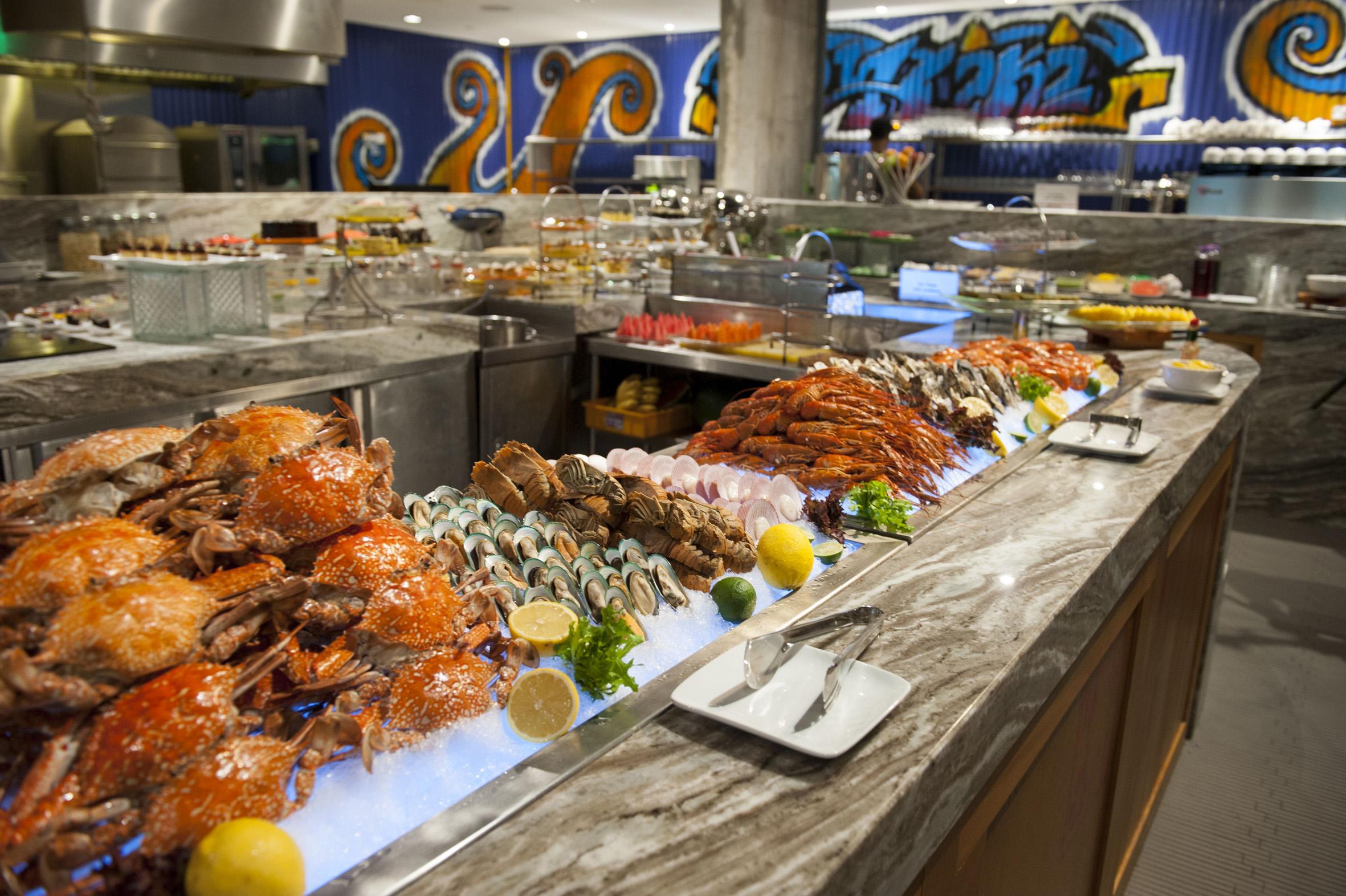 Tiki BBQ Seafood Buffet Dinner at Kontiki, Federal Hotel KL.