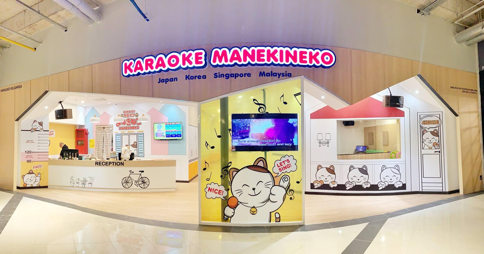 Karaoke Manekineko at EkoCheras Mall.