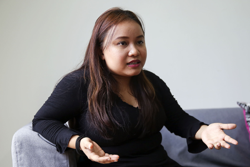 Maryam Lee speaks with Malay Mail on 4 February.