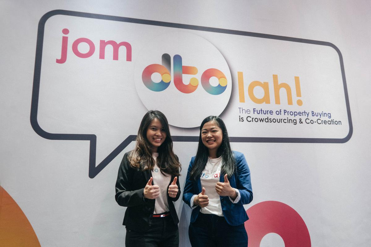 dto co-founders Marie Leong and Tee Ee Lynn