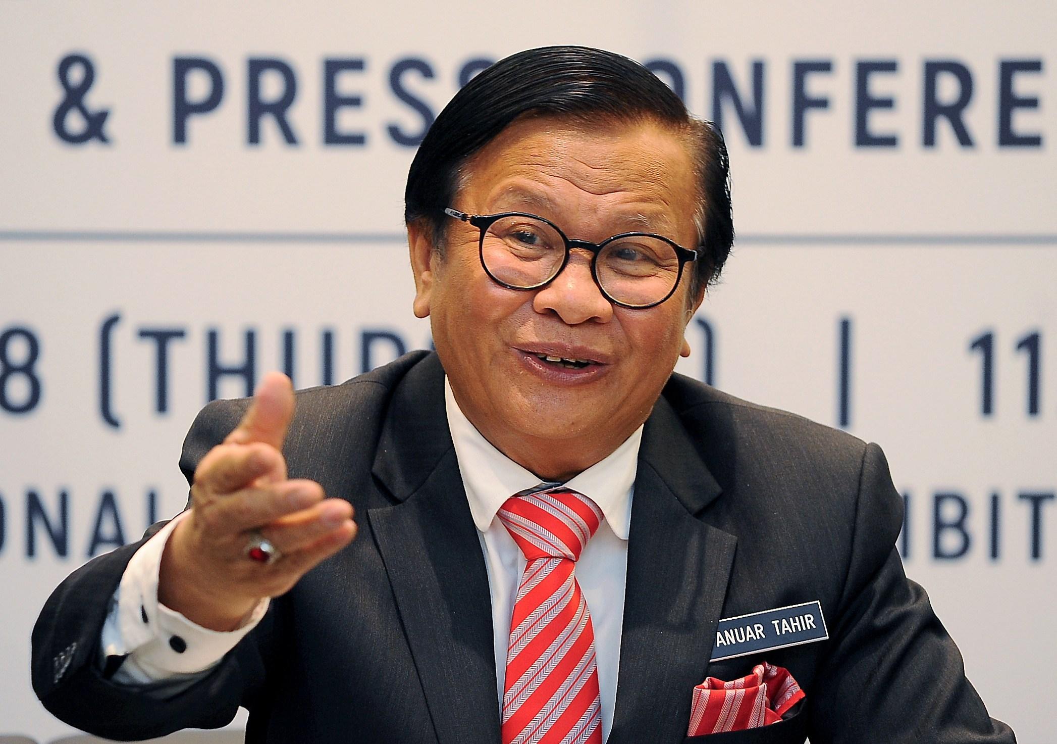 Image from Timbalan Menteri Kerja Raya, Mohd Anuar Tahir