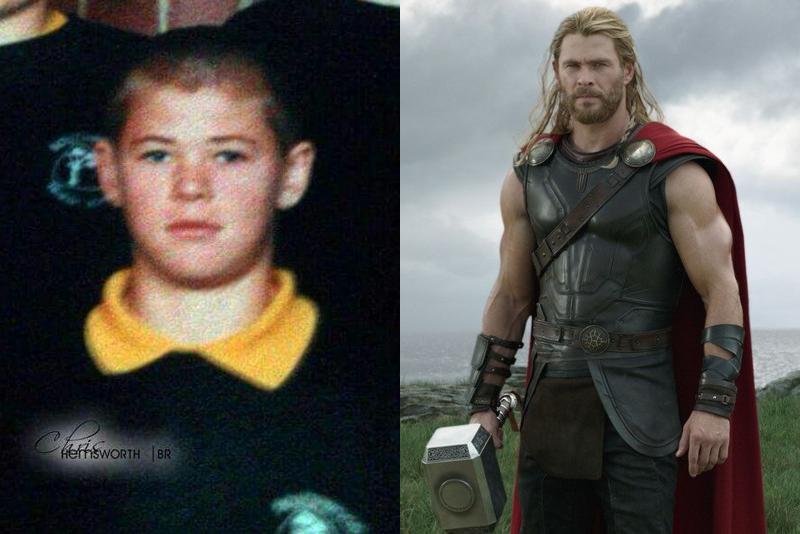 Chris Hemsworth childhood