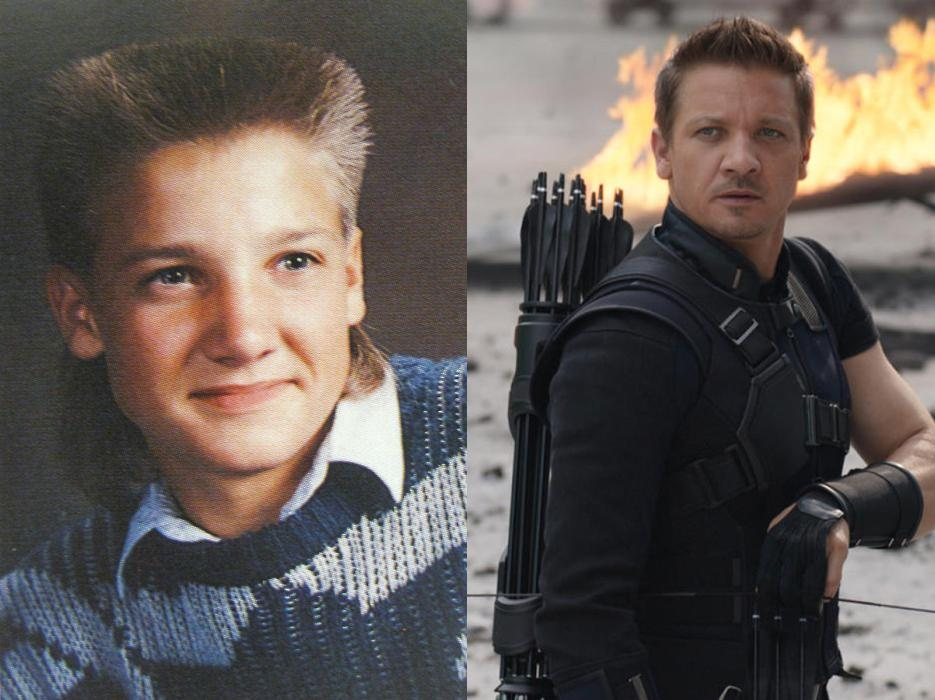 Jeremy Renner yearbook