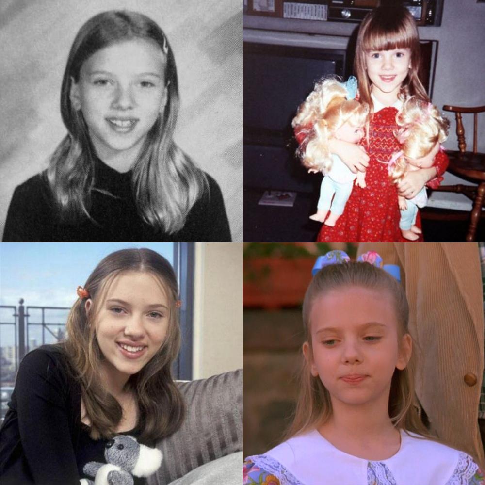 Scarlett Johansson childhood