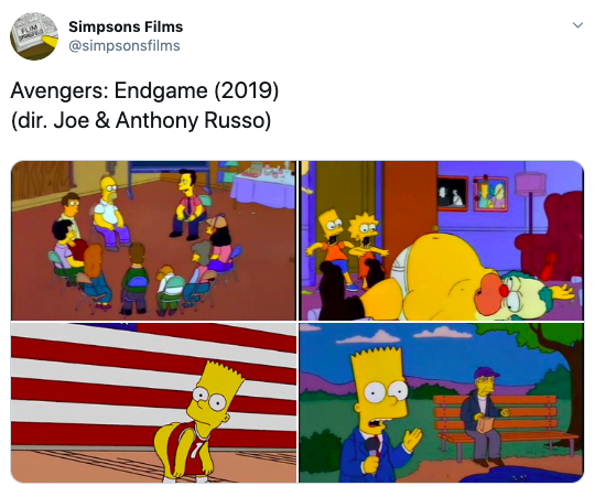 Image from Twitter @simpsonsfilms