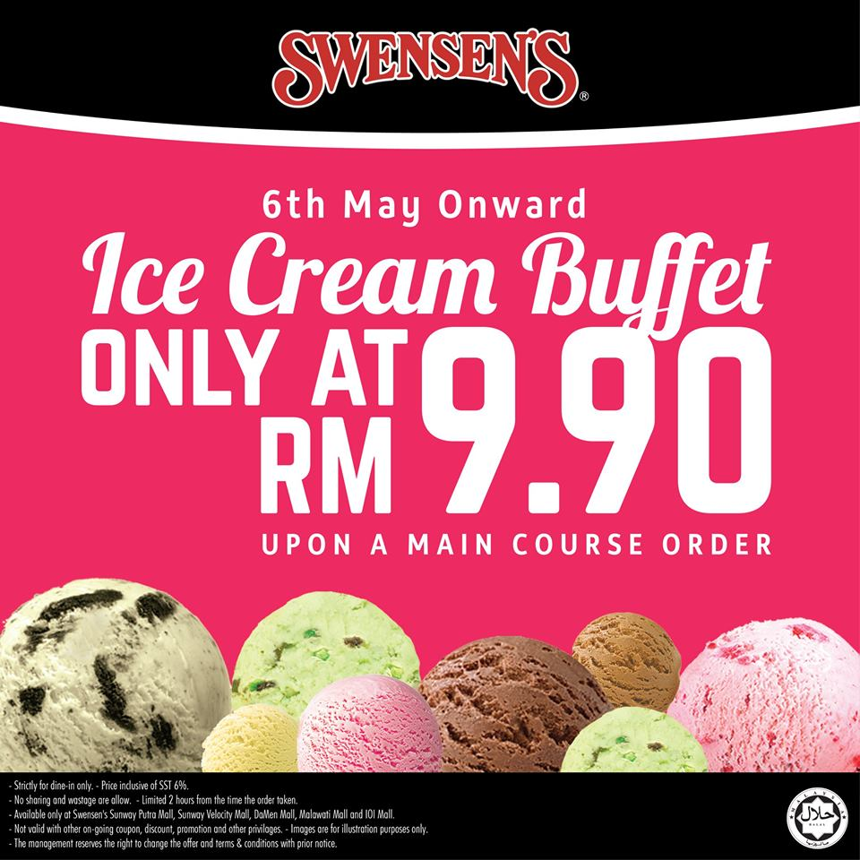 Image from Swensen's Malaysia/Facebook