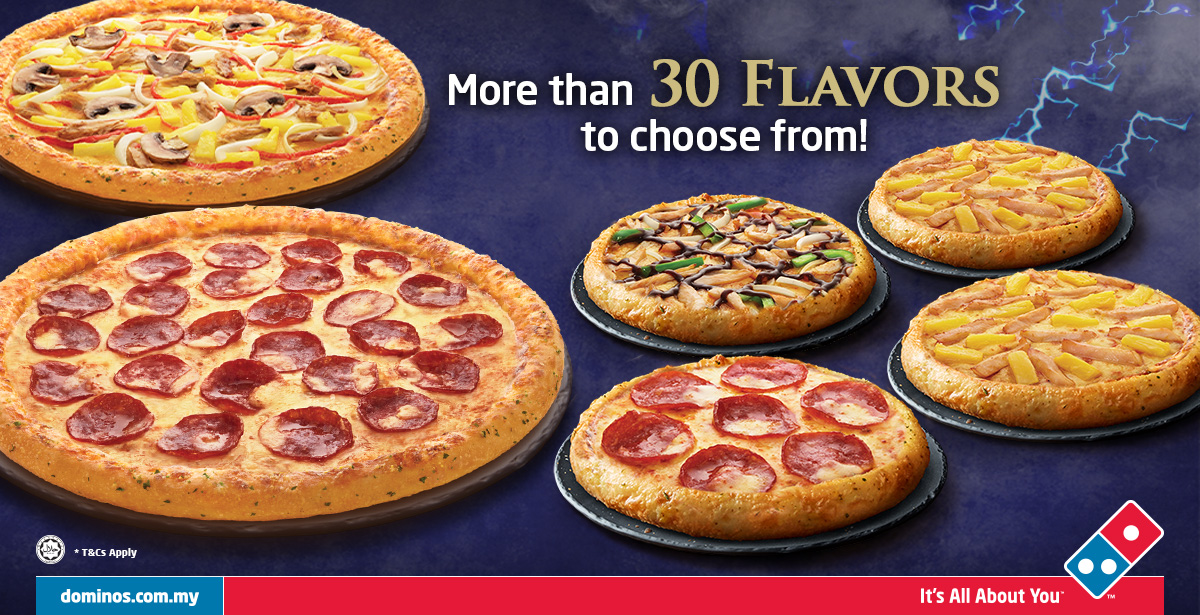 Image from Domino's Pizza