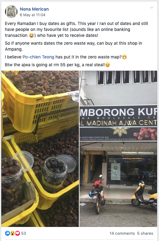 Image from Zero Waste Malaysia/Facebook