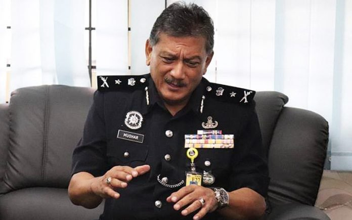 State police chief Datuk Noor Mushar Mohd
