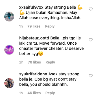 Image from Instagram @bellaastillah