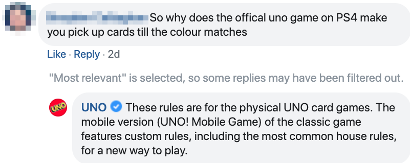 UNO Now Says You Only Have To Pick Up ONE Card If You Don't