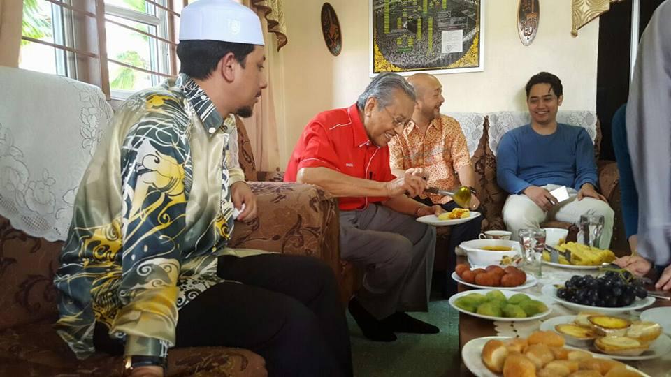 Image from Mukhriz Mahathir FC/Facebook