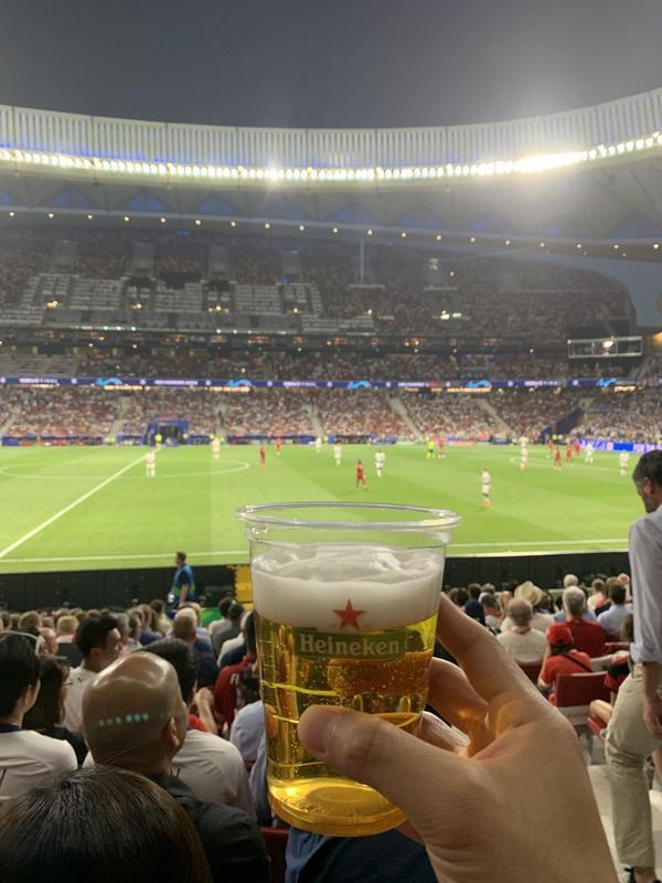 Heineken beer in Madrid