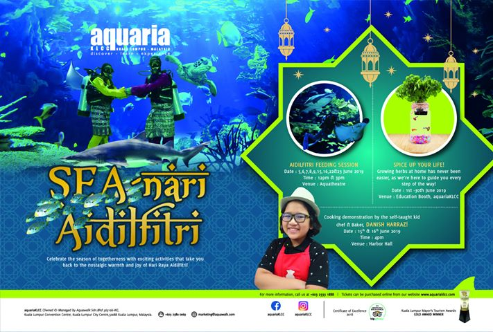 Image from Aquaria KLCC