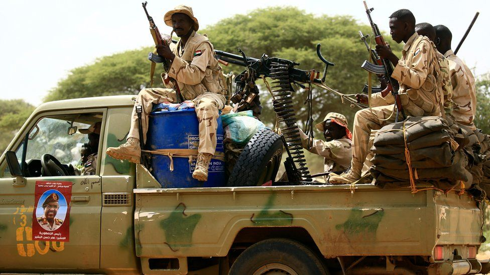 The Rapid Support Forces (RSF), a Sudanese paramilitary unit.