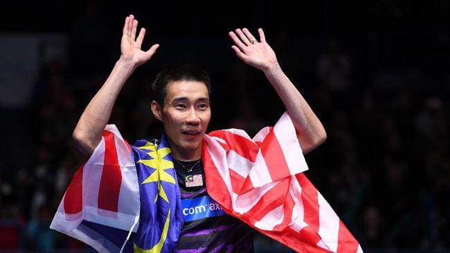 Image from Lee Chong Wei 李宗伟 Facebook