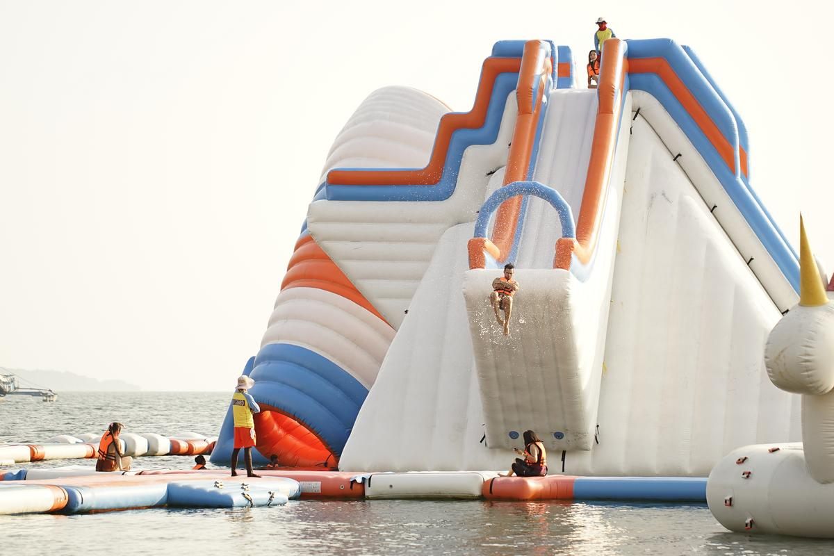 Image from Inflatable Island