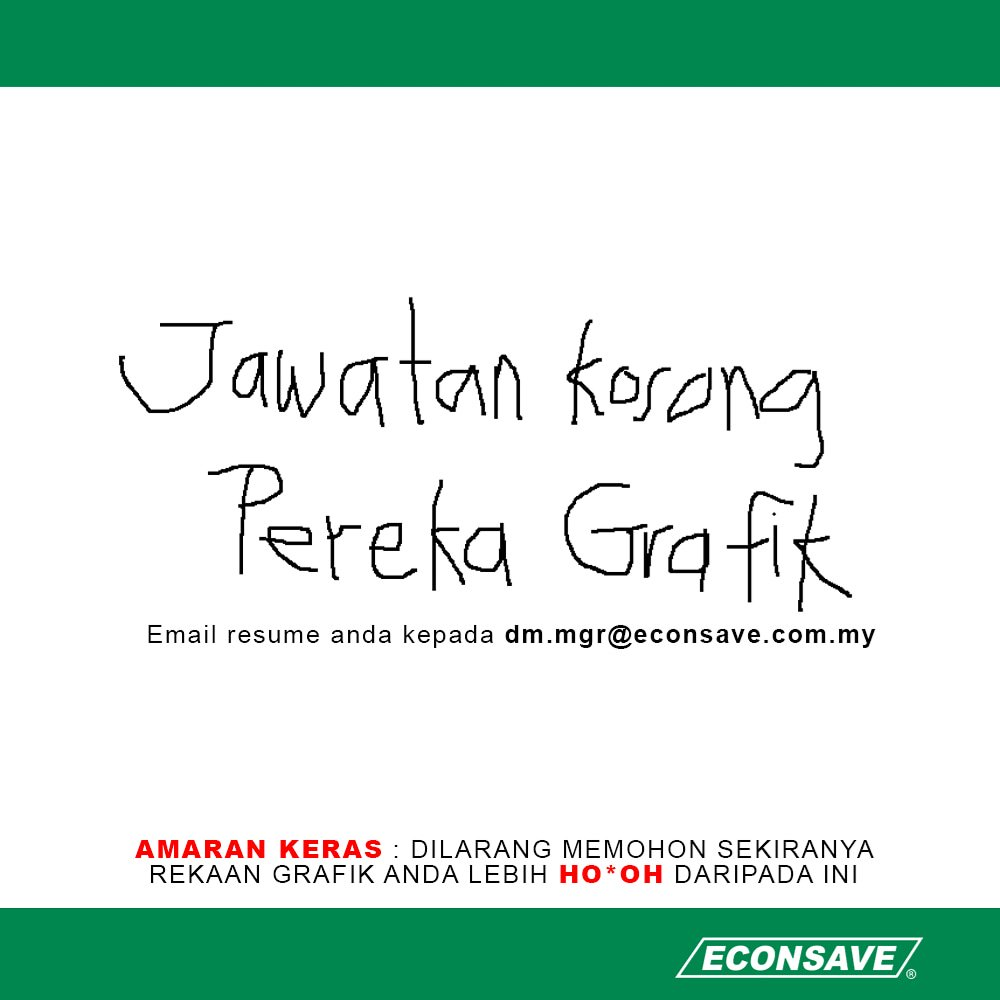 Image from Twitter @econsavemy