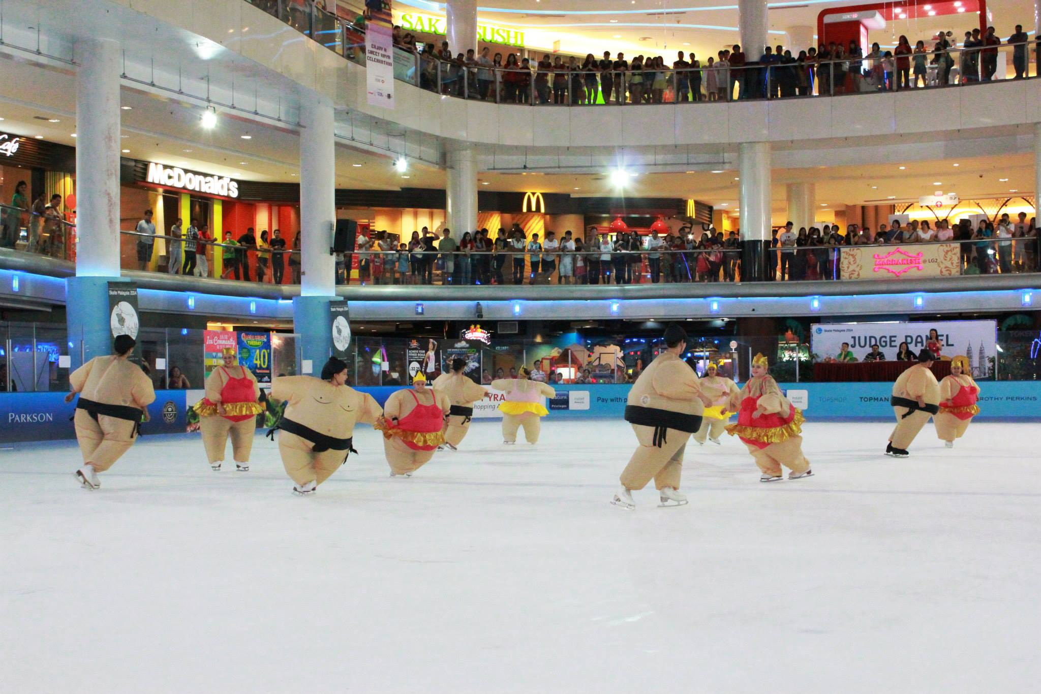 Image from Sunway Pyramid Ice/Facebook