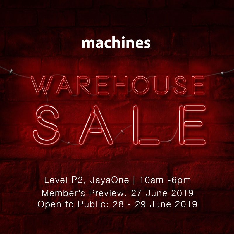 Image from Machines/Facebook