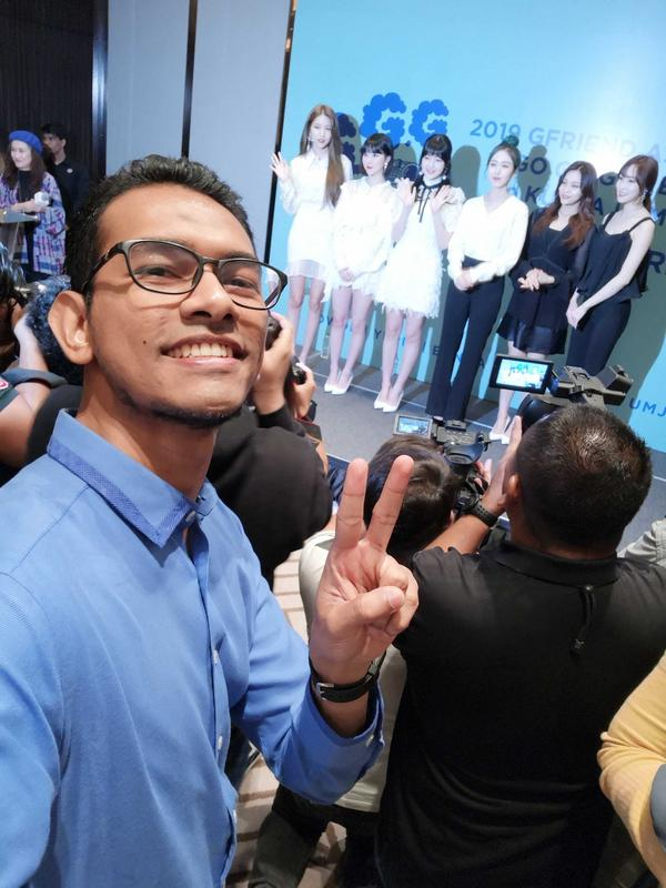 Farouq recently met GFRIEND at their pre-concert press conference here in KL.